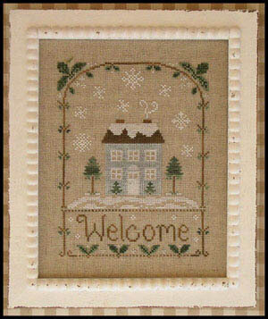 Winter Welcome - Cross Stitch Pattern