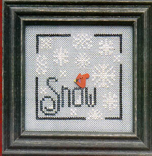 Snow (wee one) - Cross Stitch Pattern