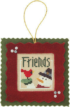 Friends - 12 Blessings of Christmas - Cross Stitch Pattern