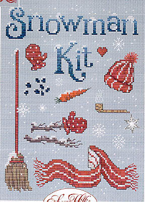 Snowman Kit - Cross Stitch Pattern