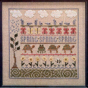 Spring Lineup - Cross Stitch Pattern