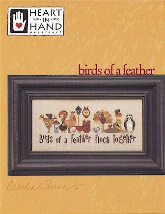 Birds of a Feather - Cross Stitch Pattern