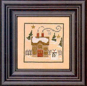 Winter Snapperland - Villa - Cross Stitch Pattern