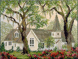 Sanctuary - Cross Stitch Pattern