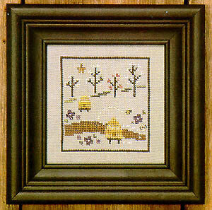 Spring Snapperland - Hive - Cross Stitch Pattern