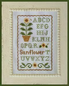 Sunflower Sampler - Cross Stitch Pattern