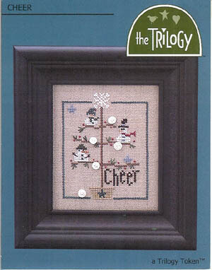 Cheer (tokens) - Cross Stitch Pattern