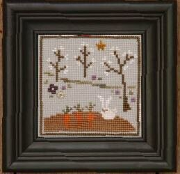 Hutch - Spring Snapperland - Cross Stitch Pattern