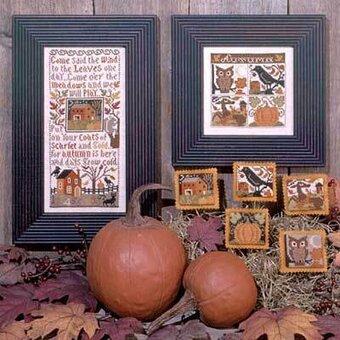 Autumn Leaves - Cross Stitch Pattern