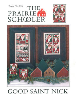 Good St Nick - Cross Stitch Pattern