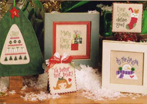 Tiny Tidings XI - Cross Stitch Pattern