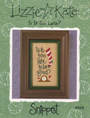 Is It Too Late? - Cross Stitch Pattern