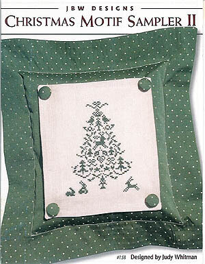 Christmas Motif Sampler II - Cross Stitch Pattern
