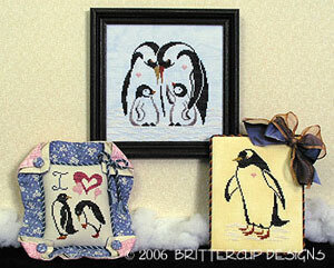 Antarctic Penguins - Cross Stitch Pattern