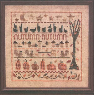 Autumn Lineup - Cross Stitch Pattern