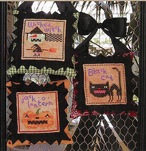 Halloween Icons - Cross Stitch Pattern