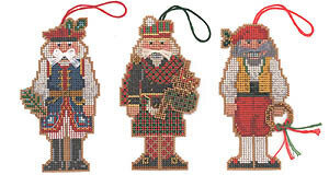 Nutcracker Ornaments I (Italy, Poland, Scotland)