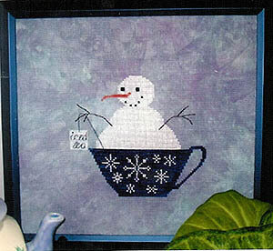 Iced Tea - Cross Stitch Pattern