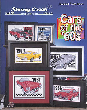 Cars Of The 60's - Cross Stitch Pattern