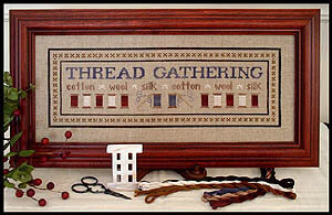 Thread Gathering - Cross Stitch Pattern