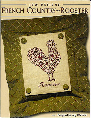 French Country Rooster - Cross Stitch Pattern