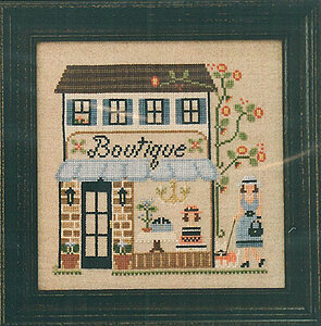 La Boutique - Cross Stitch Pattern