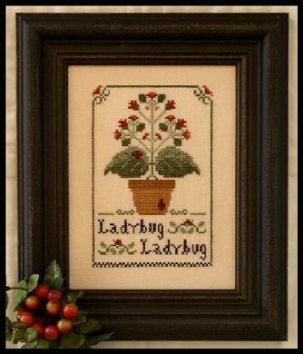 Ladybug Ladybug - Cross Stitch Pattern