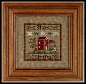 Stars & Stripes - Cross Stitch Pattern