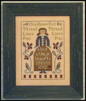Sampler Lady, The - Cross Stitch Pattern