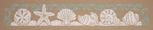 Seashell Silhouette - Cross Stitch Pattern