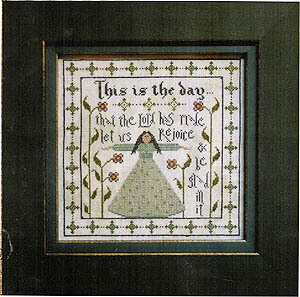 This Is The Day - Cross Stitch Pattern
