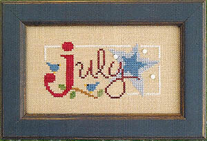 Flip-It Bits July - Cross Stitch Pattern