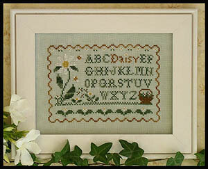Daisy Sampler - Cross Stitch Pattern