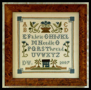 Necessities Sampler - Cross Stitch Pattern