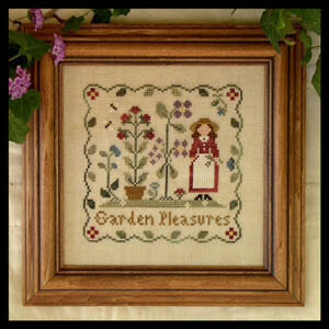 Garden Pleasures - Cross Stitch Pattern