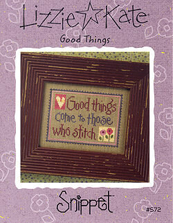 Good Things - Cross Stitch Pattern