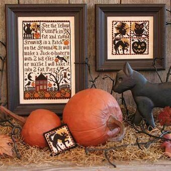 Pumpkin Patch - Cross Stitch Pattern