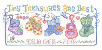 Tiny Treasures - Cross Stitch Pattern