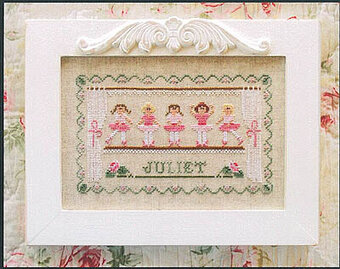 Little Ballerinas - Cross Stitch Pattern