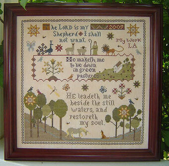 Still Waters - Cross Stitch Pattern