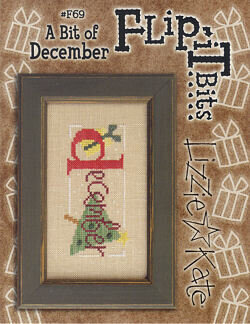 Flip-It Bits December - Cross Stitch Pattern