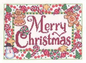 Candy Cane Christmas - Cross Stitch Pattern