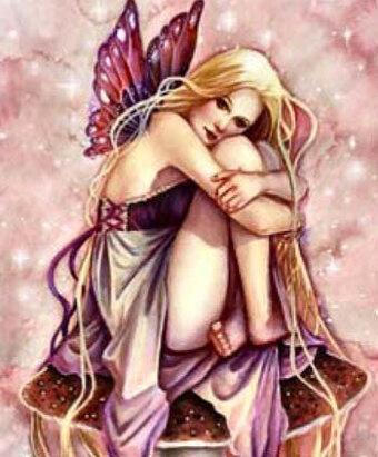 QS Littlest Fairy - Cross Stitch Pattern