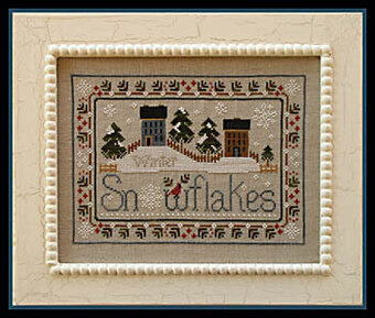 Snowflakes - Cross Stitch Pattern