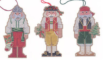 Nutcracker Ornaments III (Spain, Ukraine, Switzerland)