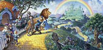 Wizard Of Oz - Cross Stitch Pattern