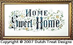 Home Sweet Home  Cross Stitch Patterns amp; Kits  123Stitch.com