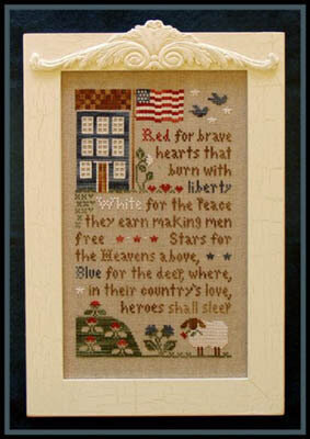 Brave Hearts - Cross Stitch Pattern