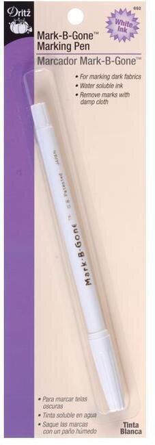 White Mark-B-Gone Marking Pen