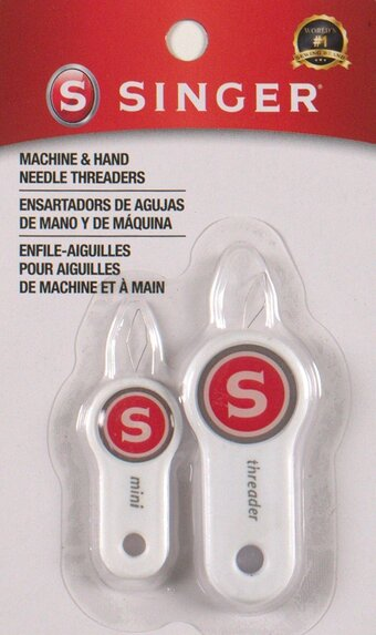 Machine and Hand Needle Threaders - 2 Per Package